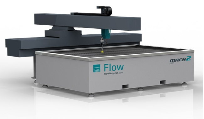 flow mach 2 waterjet